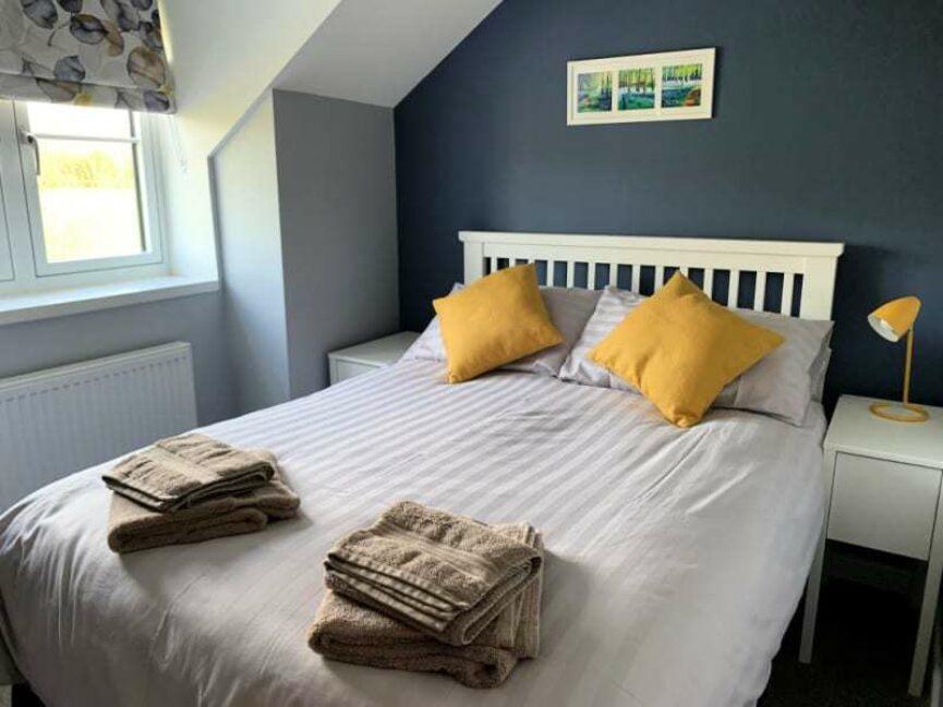 Bedroom Talfan Cottage