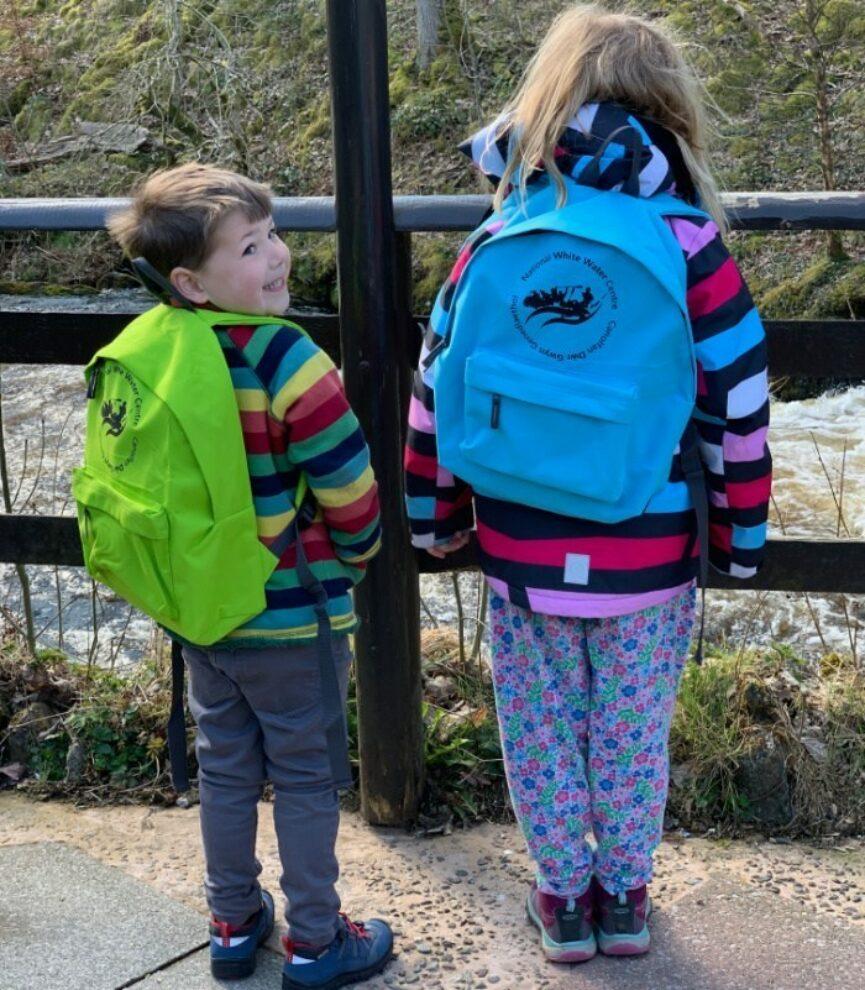 Blogger White Water Centre Backpacks