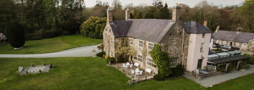 Blogger family Talhenbont hall cover DJI 0232