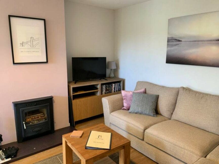 Talfan Cottage Sitting Room
